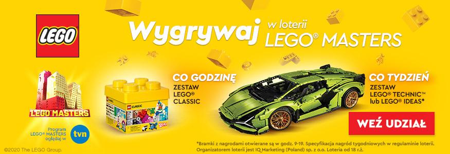 Wystartowała wielka loteria LEGO®Masters!